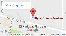 Speeds Auto Auction on Google Maps